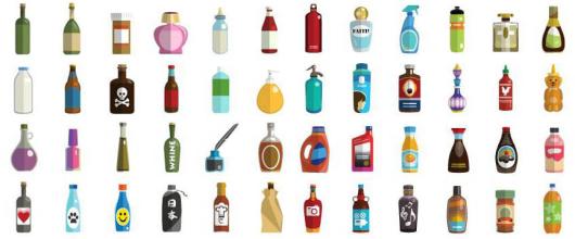 48 bottle types  864 x 360