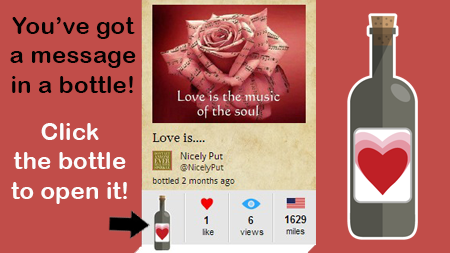 love is the music of the soul botl of the day 3.26.14 botl.com botl from NicelyPut