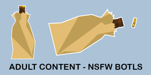 NSFW ADULT CONTENT BROWN BAG BOTTLE