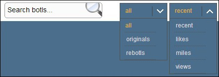 search sort