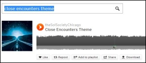 close encounters theme soundcloud e