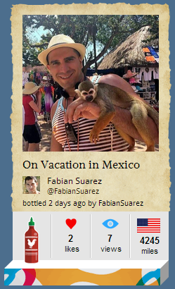 Fabian Suarez on Vacation in Mexico
