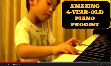 4 year old prodigy